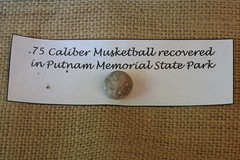 .75 Caliber Musket Ball Recovered in Putnam Memorial State Park (Itinerant Wanderer) Tags: connecticut redding putnammemorialstatepark americanrevolution