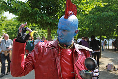 MCM Saturday 2018 L (Lee Nichols) Tags: mcmsaturday2018 mcm canoneos600d cosplay cosplayers costume costumes comiccon londonexcel cmwdred red mcmlondonmay2018 yondu guardiansofthegalaxy