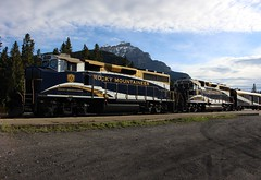 Rocky Mountaineer... (sbstnl.) Tags: rocky mountaineer train banff alberta kamloops vancouver