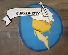 Quaker City (Jay Costello) Tags: tuscon arizona az tusconaz pimaairandspacemuseum airplane military noseart quakercity pennsylvania blue yellow