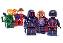Earth-X Doppleganger (Barratosh#2) Tags: cw green arrow supergirl flash overgirl earthx crisis freedom fighters ray lego minifigures
