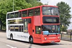 'National Express West Midlands' Alexander Dennis Trident '4155' (Y751 TOH) (K.L.Jenkins) Tags: nationalexpress westmidlands alexander dennis trident 4155 y751toh nxwm wolverhampton