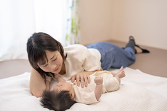 Happy mother and baby girl looking at each other (Apricot Cafe) Tags: img95865 asia asianandindianethnicities healthcareandmedicine healthylifestyle japan japaneseethnicity tamronsp35mmf18divcusdmodelf012 tokyojapan affectionate anticipation baby babygirls beautifulwoman beginnings bonding bright care colorimage cute day diaper domesticlife facetoface family fragility fulllength futon gift happiness holding indoors innocence lifestyles livingroom loveemotion loveatfirstsight lyingonback lyingonfront morning mother newlife newborn onlywomen pajamas people photography realpeople smiling sunlight sustainablelifestyle togetherness twopeople window women youngadult