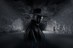 in the tunnel -0167 (P.E.T. shots) Tags: portrait dark moody man joelgrimes