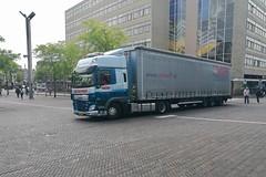 2015 DAF CF 440 FT (Michiel2005) Tags: truck vrachtauto daf cf440ft cf leiden stationsweg stationsplein nederland netherlands holland