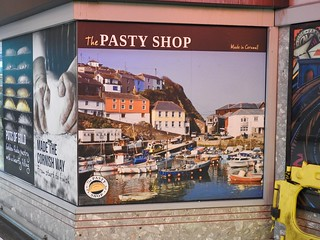 The Pasty Shop, Temple Meads Railway Station, Bristol 21 July 2018