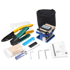 FTTH Splicing Splice Fiber Optic Stripping Tool Kits With Fiber Cleaver FC-6S (1193343) #Banggood (SuperDeals.BG) Tags: superdeals banggood electronics ftth splicing splice fiber optic stripping tool kits with cleaver fc6s 1193343