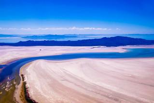 Great Salt Lake, state of Utah, USA
