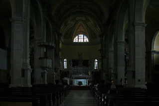 In the Church of St. Euphemia in Rovinj