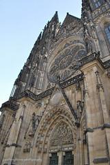 St.Vitus Cathedral, Prague castle. (natureflower) Tags: stvitus cathedral praguecastle czechrepublic gothic architecture classic roman empire