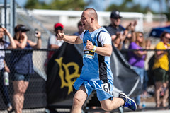 Jim Cayer - Track and field - 2018 Summer Games 6-9-18 (1) (Special Olympics Southern California) Tags: 2018socalspecialolympicssummergames 2018summergames sosc specialolympics trackandfield