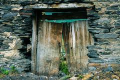 Old Georgian Gate (LiL' Photography) Tags: gate old decayed georgia ushguli uschguli georgien wooden stone village