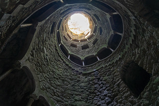 View from bottom of the Well