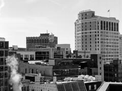 105205010001 (elsuperbob) Tags: detroit michigan downtowndetroit zdeck skyline skyscrapers mamiyam645 bergger pancro400 berggerpancro400