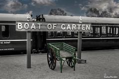 Carro-estacion-Aviemore (Carlos Perulán) Tags: estacion tren carro ferrocarril escocia