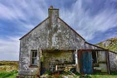 _DSC6162 (EAGarrett Photography) Tags: forgotten abandoned ruin derelict croftlife islandlife goldenroad timecapsule wideangle clouds croft cottage harris isleofharris outerhebrides westernisles scotland