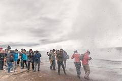 Getting Wet (pni) Tags: water human people drop splash being person group steam strokkur geyser geysir goshver is18 iceland ísland pekkanikrus skrubu pni