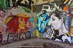 Andrew Wallas_2739 boulevard du Général Jean Simon Paris 13 (meuh1246) Tags: streetart paris paris13 boulevarddugénéraljeansimon andrewwallas chapeau