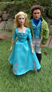 Disney Cinderella and Prince Kit Live Action Doll Repaints
