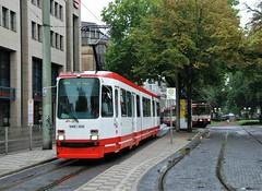 Krefeld, Ostwald 23.08.2010 (The STB) Tags: tram tramway tranvía strassenbahn strasenbahn germany deutschland publictransport citytransport öpnv