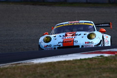 No.9 GULF NAC PORSCHE 911 with PACIFIC with GULF RACING (kikupom) Tags: supergt sgt motorsports race gt300 gt3