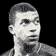 Kylian Mbappe Mosaic (cornejo-sanchez) Tags: kylian mosaic photomosaic visual art fifa worldcup france champion mbappe