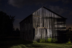The Barn on Featherbed Lane (• estatik •) Tags: barn featherbed ln lane hunterdon county nj new jersey stockton kingwood frenchtown rural country night long exposure dark