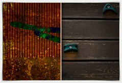 Paradise Bird truth (kazimierz.pietruszewski) Tags: abstraction abstract form composition digipaint digitalart concept graphic colorful border diptych 21 bird