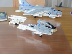 A-7E Corsair II WIP (Mad physicist) Tags: lego workinprogress a7e corsair jet wip