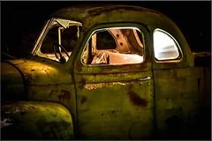 Fraser Range station (Gasgaslex) Tags: wreck relic fraserrange outback entropy carwreck rustywreck ute pickup truck
