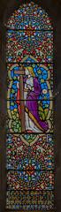 Scarborough, St Mary's church window (Jules & Jenny) Tags: scarborough stainedglasswindow stmaryschurch
