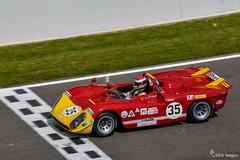 E. Pirro sur Alfa Romeo T33/3 (HVA Images) Tags: t33 alfa romeo pirro spa classic d500 belgique francorchamps peterauto