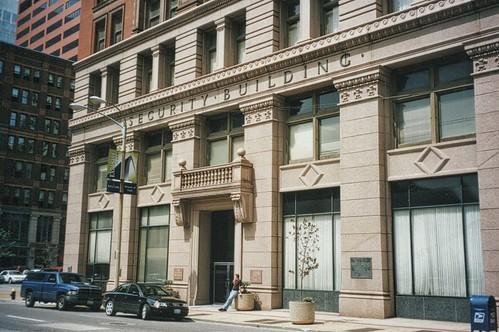 Security Building - St Louis - Noonday Club - Facade