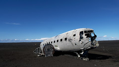 The Lost Plane (MW // Photography) Tags: iceland wreck landscape planewreck plane beach travel nikon sólheimasandur sky