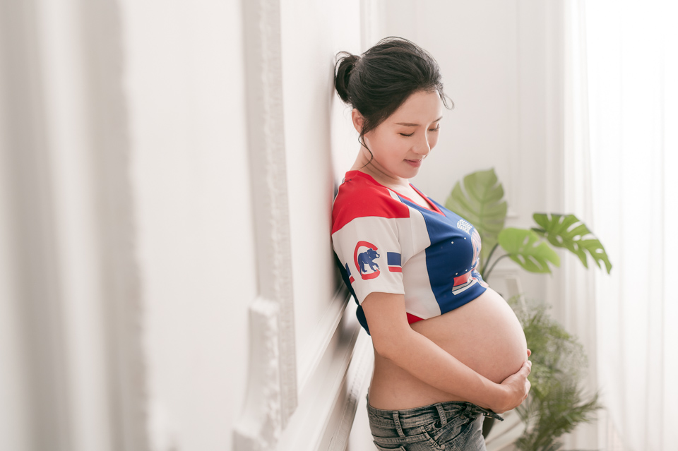 推薦 台南孕婦寫真 浪漫時尚孕媽咪 SY 025