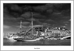 Brixham Harbour & Marina (flatfoot471) Tags: 2016 blackwhite boats brixham brixhambelle devon england harbour holiday july marina pleasure summer unitedkingdom urban gbr