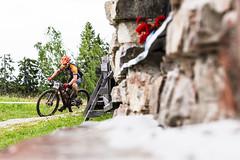 on a Tahko MTB  route near Pehkubaari_ (VisitLakeland) Tags: finland mtb people summer tahko bike competition cycling event kesä kilpailu luonto maastopyörä nature outdoor pyörä pyöräily sport tapahtuma