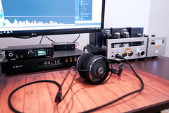 Hifi setup 2018 (0livr) Tags: hifi audio audiophile dac amp amplifier holo rme headphones desk setup gear music tubes 300b