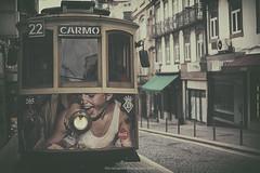 22 (Graella) Tags: tranvia 22 oporto porto portugal viajar travel vacaciones holidays transportepublico transporte vehiculo trolleycar landscape lvm street urban vintage