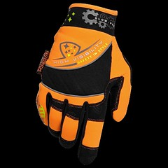 HIGH VISIBILITY GLOVES (mechmatesgloves) Tags: high visibility gloves mechmates mechanical