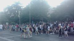 Gente (ciudad imaginaria) Tags: madrid orgullo pride recoletos arcoiris bandera