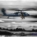 Alaska Air National Guard HH-60G Pave Hawk Hositing Up 2 Heroes