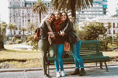 Montevideo (maysalz1) Tags: friends friendship girls southamerica uruguay montevideo travel brazilian trip winter freedom happiness fun youth young brazilians women happy sunny