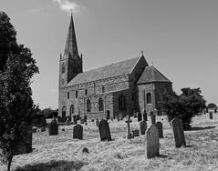 All Saints' Church, Brixworth (mattgilmartin) Tags: anglosaxon church god northampton brixworth cemetery graves spire clock