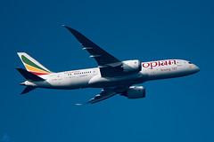 Taj Mahal airborne (Jersey JJ) Tags: ethiopian airlines boeing 787 airliner aircraft passenger jet taj mahal etaov