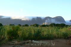 cloud roll over Inago massif