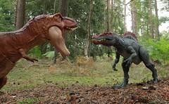 Spinosaurus from Mattel (rodstoybox) Tags: dinosaur dinosaurs spinosaurus trex jurassicpark jurassicworld jurassic fallenkingdom lostworld mattel toys rex
