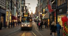 De laatste week (Peter ( phonepics only) Eijkman) Tags: amsterdam city trapkar bn gvb tram transport trams tramtracks trolley rails rail streetcars strassenbahn netherlands nederland nederlandse noordholland holland