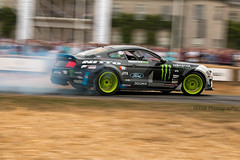 Ford Mustang RTR ({House} Photography) Tags: fos festival speed 2018 25th anniversary car automotive race racing motor sport motorsport panning canon 70d 24105 f4 housephotography timothyhouse ford mustang rtr vaughn gittin jr smoke drift