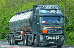 Volvo FH Tanker Stephen J Tabner GL07 WVW (SR Photos Torksey) Tags: transport truck haulage hgv lorry lgv logistics road commercial vehicle freight traffic volvo fh tanker stephen tabner